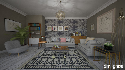 Contemporary By Janip - Eclectic - Living room  - by nina50