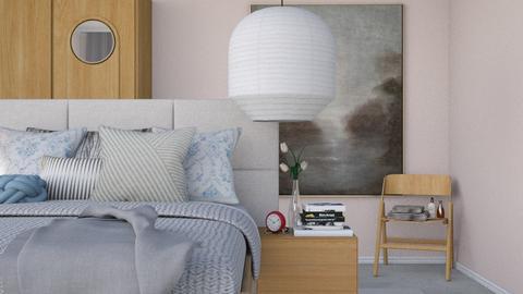 Soft Pink - Modern - Bedroom  - by HenkRetro1960