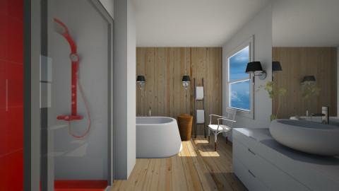 Splashbath Wood - Modern - Bathroom  - by 3rdfloor