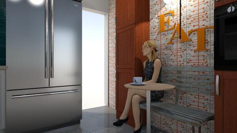 T L kitchen Coffee bar 3 - Kitchen  - by D379