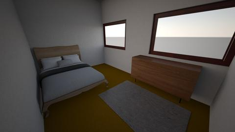 denver c huffer - Bedroom  - by imoutofschool