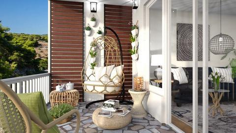 M_Tea on the balcony - by milyca8