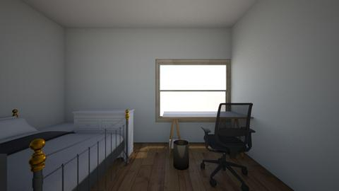 My Room Desk Window - Bedroom - by skschell