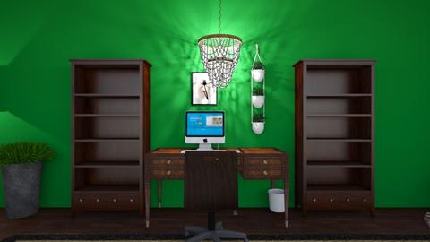 Study Room Hangout Room - Vintage - by eb91011