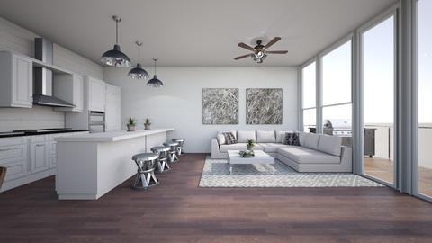 Abna kitchen and dining 2 - Classic - Living room  - by chloe_mccarty