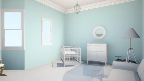 Baby Boy Nursery 3.5 - Classic - Kids room  - by lucydfalzon