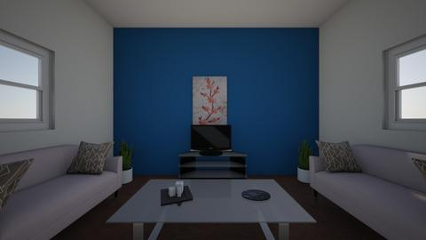 symmetrical room - Living room  - by haileyc