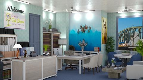 blue law office 3 - by Teri Dawn