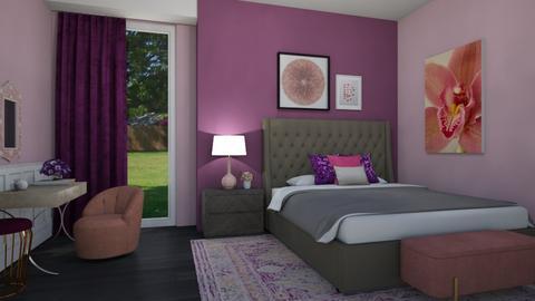 Infamous - Eclectic - Bedroom  - by mclaraop