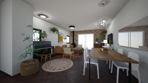 Limor Weissbard 31 - Living room  - by erlichroni