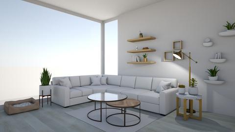bright living room - Living room  - by suu