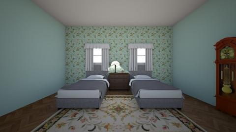 Vintage Bedroom - Bedroom  - by Chefffy