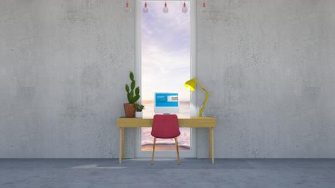 concrete office - Modern - Office  - by elliers11