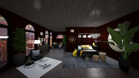 Darkness - Modern - Bedroom  - by Hazelnut10