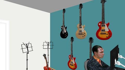 Muziekhok 10 - Modern - Office  - by Winmau