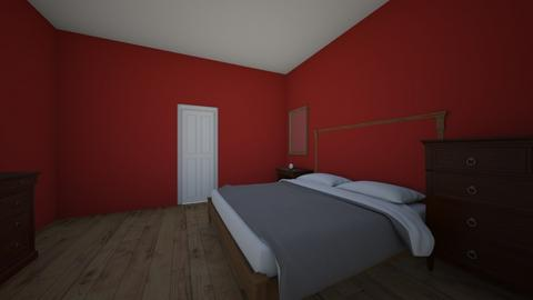 monochromatic number 3 - Bedroom  - by Ransu2021