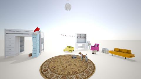the mixed up kids bedroom - Kids room  - by lex faye