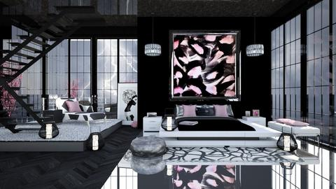 FOR THE LOVE OF ART - Feminine - Bedroom  - by RS Designs