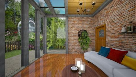 Enclosed Porch - Garden  - by yonvie