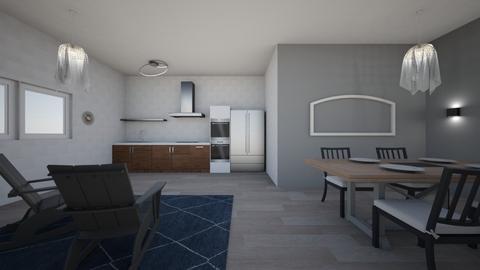 Modern KitchenDiningRoom - Modern - by JakeMaster3899