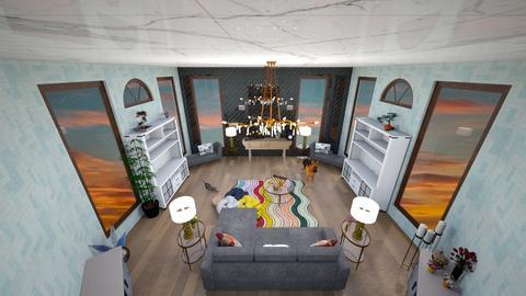 Line Symmetrical - Living room  - by Rea rea