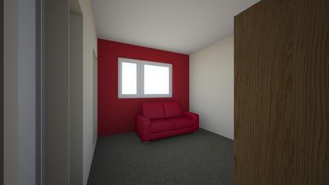 Red Room Refurb - Retro - Bedroom - by speedbird48