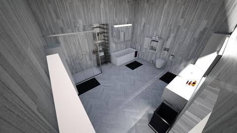 Master Bathroom - Modern - Bathroom  - by Fe4r_Me