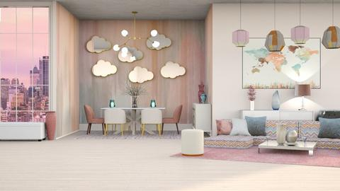 ICE CREAM AND SHERBET - Modern - Living room  - by RS Designs