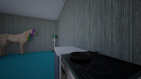 rhys kichen desin - Kitchen  - by mr griffiths