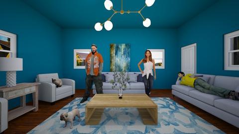 living room - Living room  - by otterluver