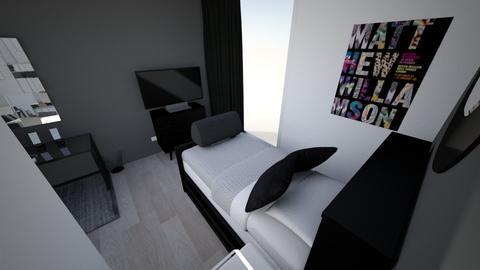 Room Ryuko Hanagaki - Modern - Bedroom  - by YustiUwU