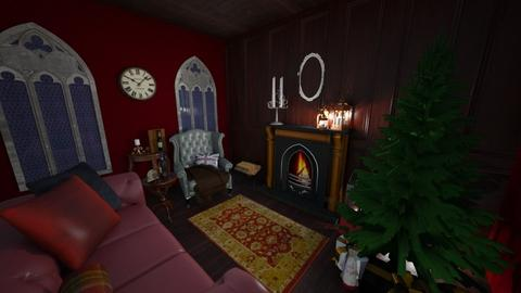 Christmas Chill - Living room - by KurehaKano