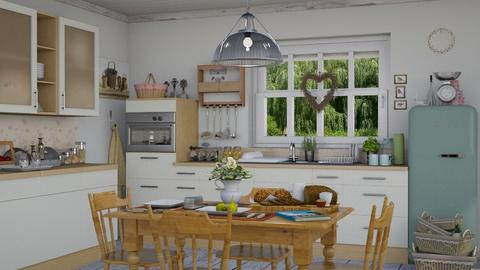 M_ Country kitchen - Country - Kitchen  - by milyca8