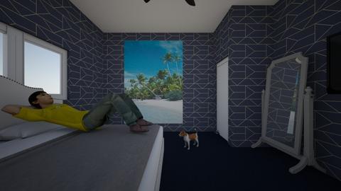 Bedroom design - Modern - Bedroom - by NickMai21