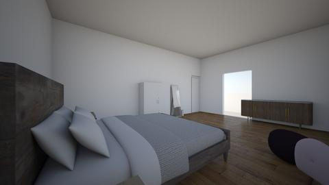 Master - Modern - Bedroom  - by marenlane