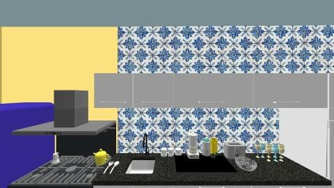 mykonos - Kitchen - by marcolino999