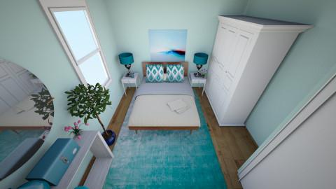 Theresa Room - Eclectic - Bedroom  - by sk8tpnkz24