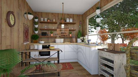 Container home - Bathroom  - by meriredbika