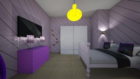 Deep Fried Chicken - Modern - Bedroom  - by Love to all