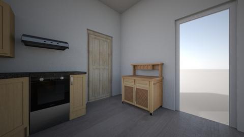 New Kitchen Layout  4 - Modern - Kitchen  - by Northernandnoted