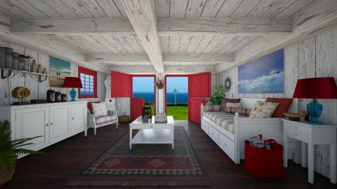 Rustic Living - Rustic - Living room  - by Joao M Palla