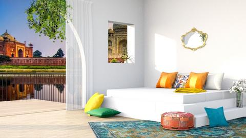Sleeping in India - Modern - Bedroom  - by its lia