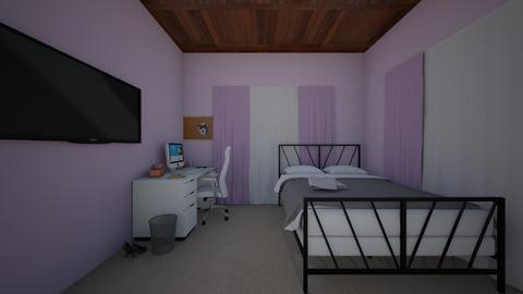 Room1 - Modern - Bedroom  - by Makaykay