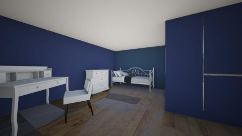 Guest 2 - Bedroom - by SeraLika