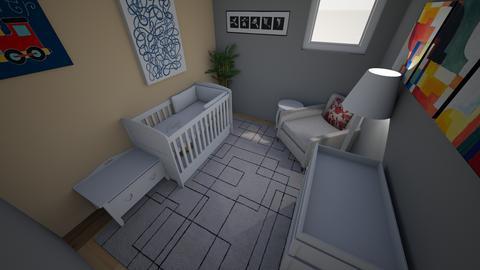 Nursery Example 2 - Kids room  - by mgeiger