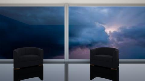 Anxiety - Living room  - by artsy_naturelover