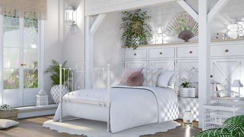 shabby chic sleep - Bedroom  - by LB1981