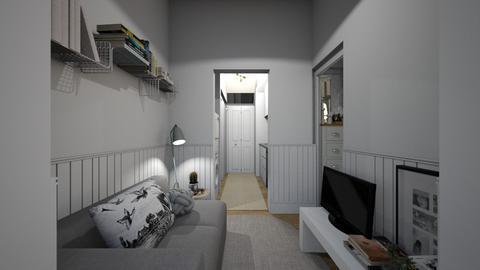Casa307LivingArea - Classic - Living room  - by nickynunes