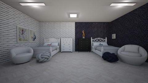 Polar Opisits dorm room  - by Ellanaxo
