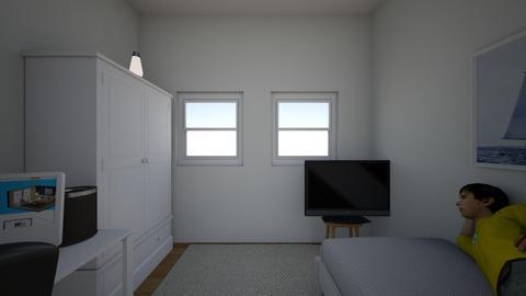 a gamer boy - Minimal - Bedroom  - by Bananasplitboat